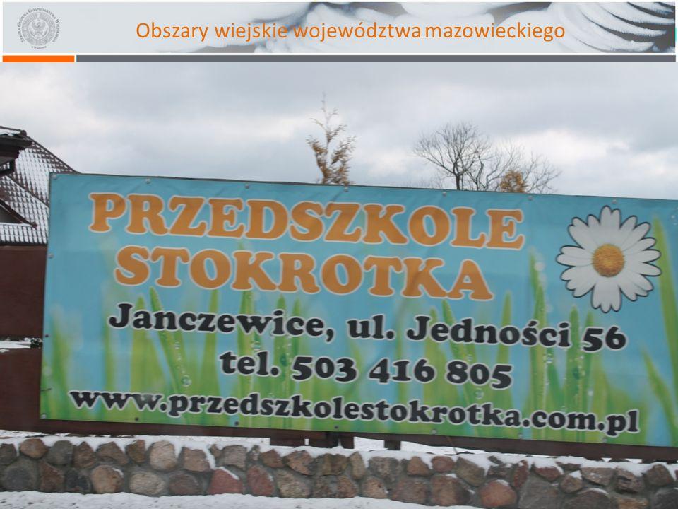 Obszary wiejskie województwa mazowieckiego