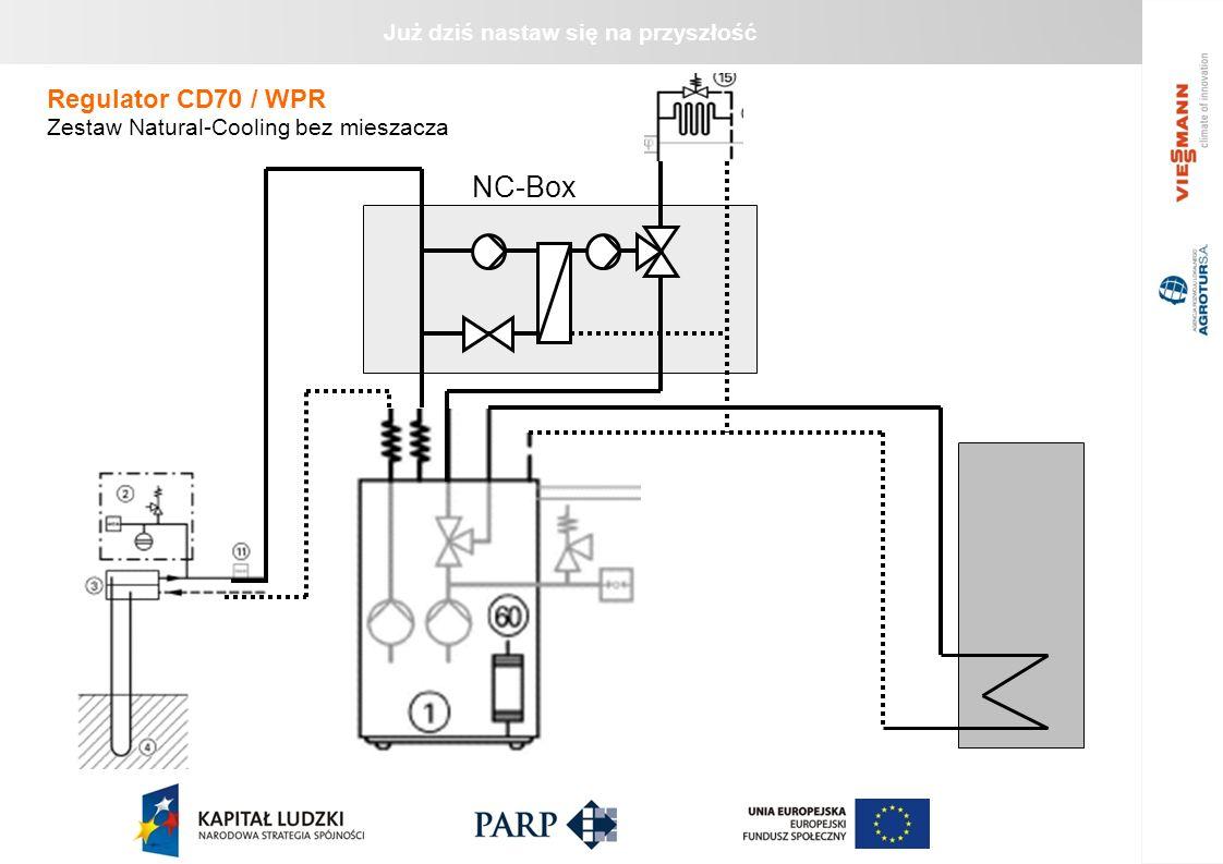Regulator CD70 / WPR Zestaw Natural-Cooling bez mieszacza NC-Box 21