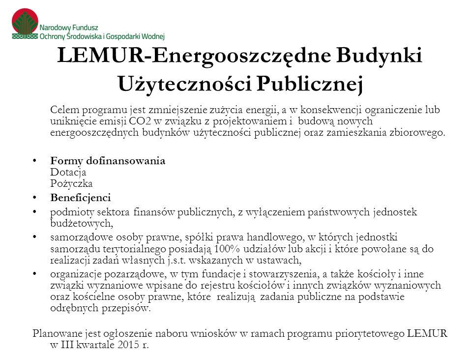 LEMUR-Energooszczędne Budynki Użyteczności Publicznej