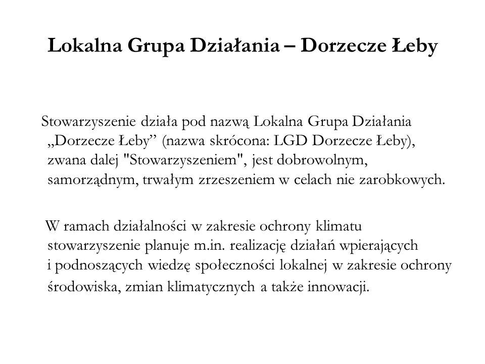 Lokalna Grupa Działania – Dorzecze Łeby