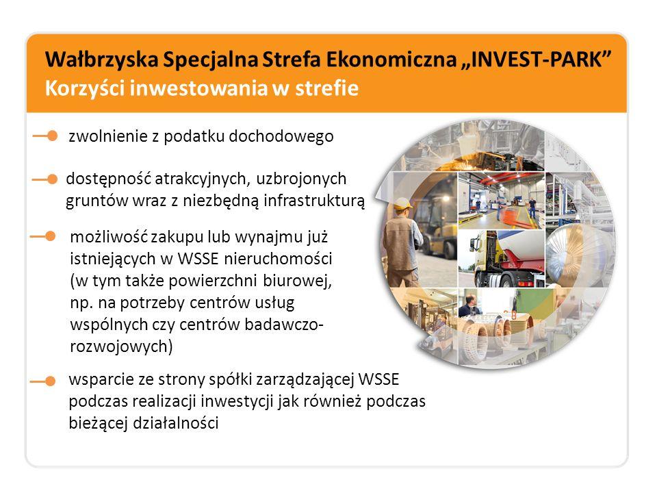 """Wałbrzyska Specjalna Strefa Ekonomiczna """"INVEST-PARK Korzyści inwestowania w strefie"""