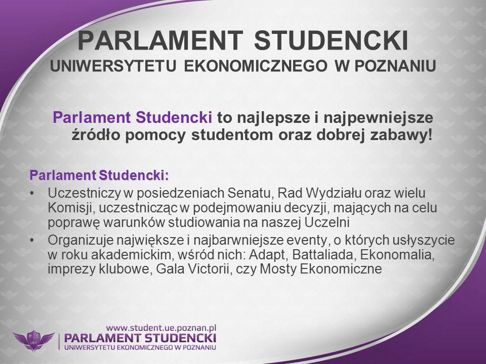 PARLAMENT STUDENCKI UNIWERSYTETU EKONOMICZNEGO W POZNANIU
