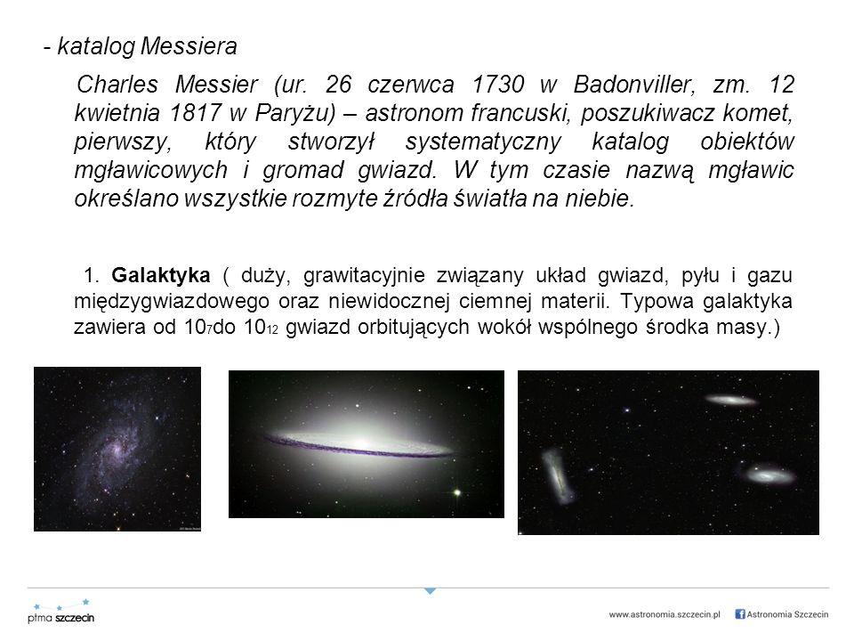 - katalog Messiera