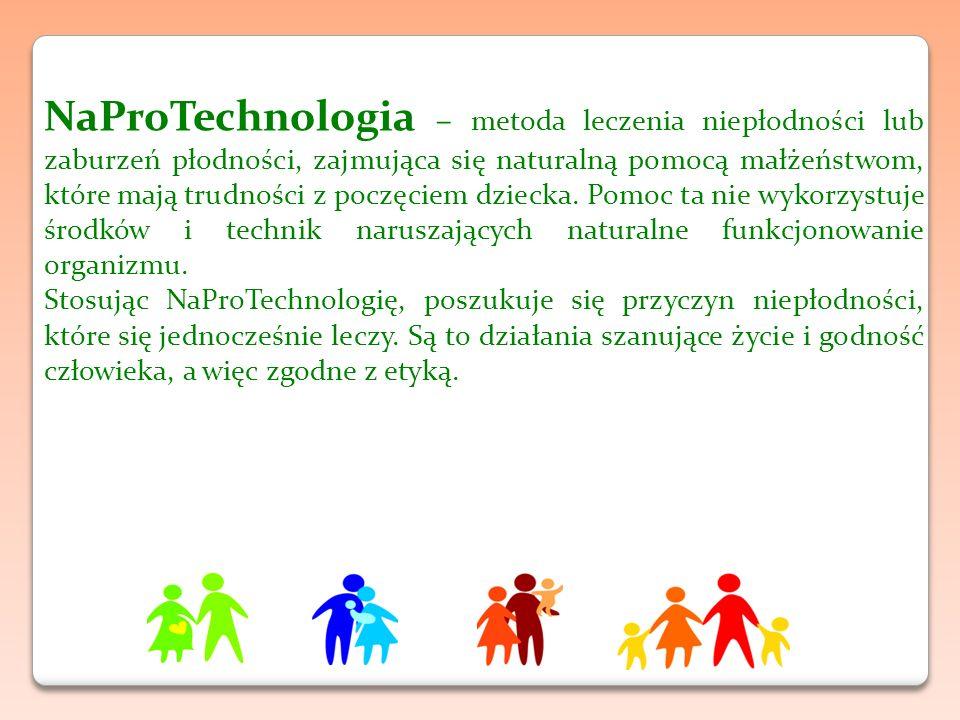 NaProTechnologia – metoda leczenia niepłodności lub zaburzeń płodności, zajmująca się naturalną pomocą małżeństwom, które mają trudności z poczęciem dziecka. Pomoc ta nie wykorzystuje środków i technik naruszających naturalne funkcjonowanie organizmu.