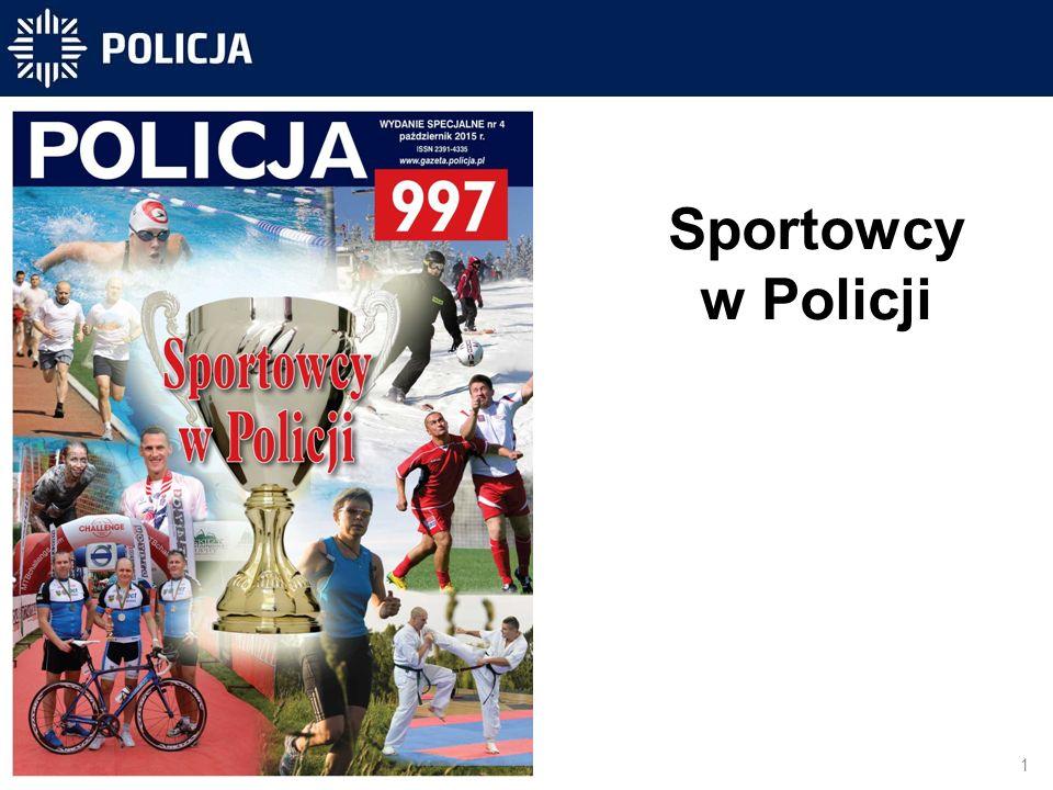 Sportowcy w Policji