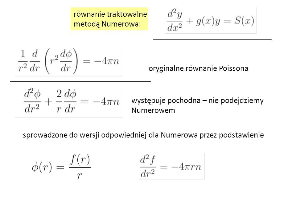 oryginalne równanie Poissona