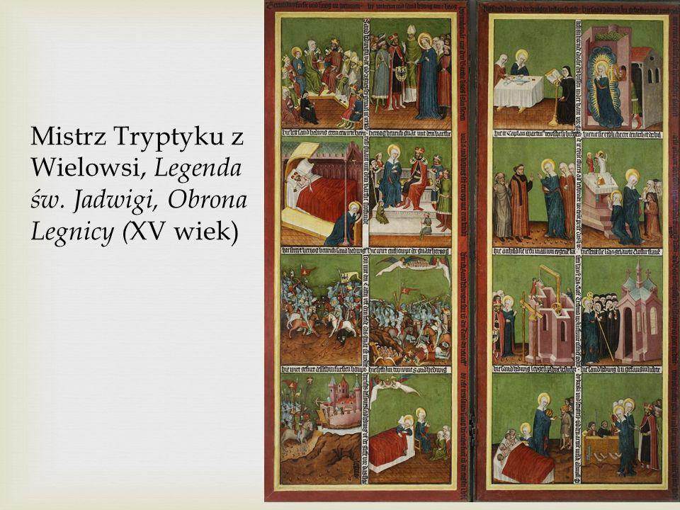 Mistrz Tryptyku z Wielowsi, Legenda św