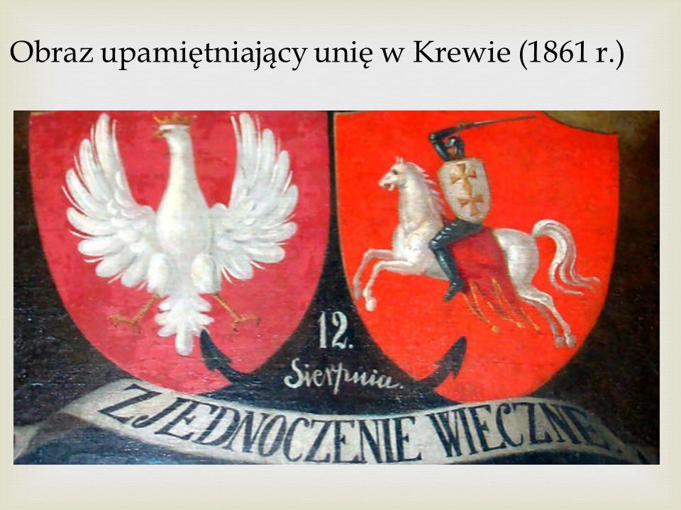 Obraz upamiętniający unię w Krewie (1861 r.)