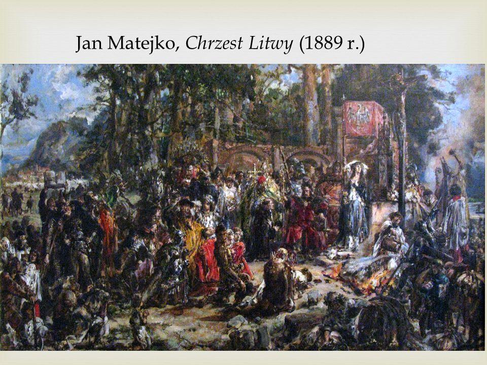Jan Matejko, Chrzest Litwy (1889 r.)