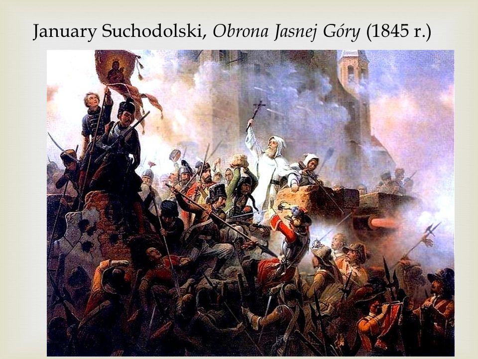 January Suchodolski, Obrona Jasnej Góry (1845 r.)