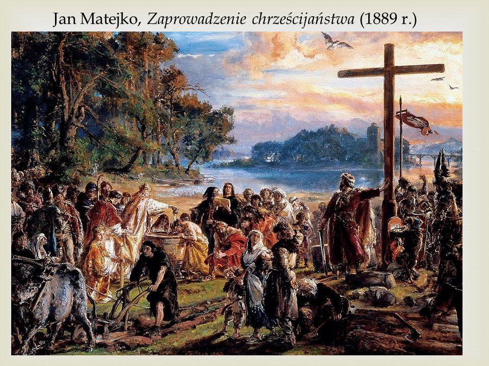 Jan Matejko, Zaprowadzenie chrześcijaństwa (1889 r.)