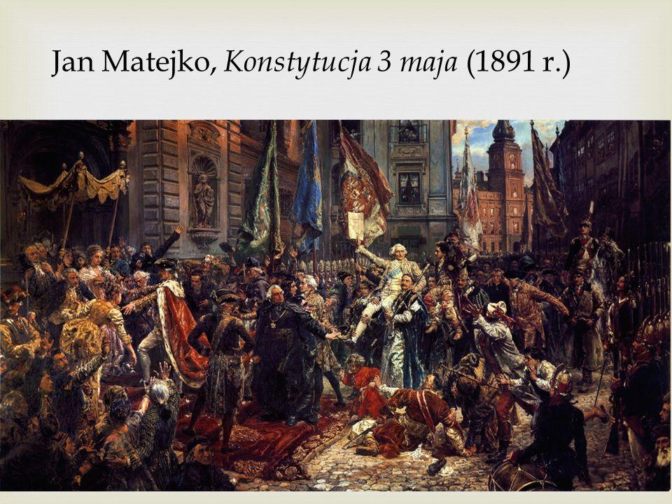 Jan Matejko, Konstytucja 3 maja (1891 r.)