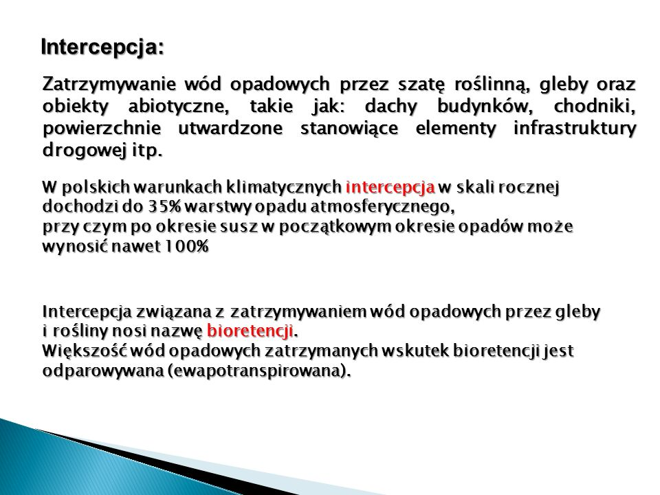 Intercepcja: