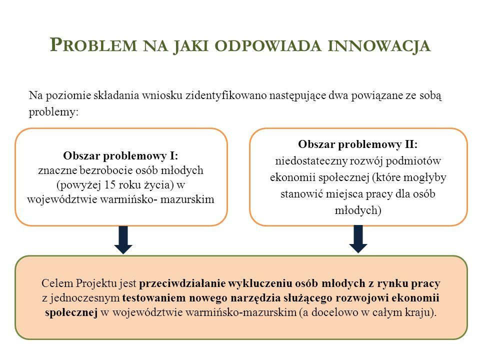 Problem na jaki odpowiada innowacja