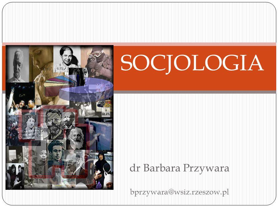 dr Barbara Przywara bprzywara@wsiz.rzeszow.pl