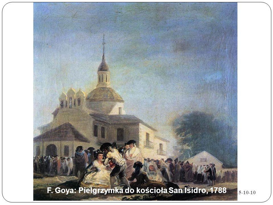 F. Goya: Pielgrzymka do kościoła San Isidro, 1788