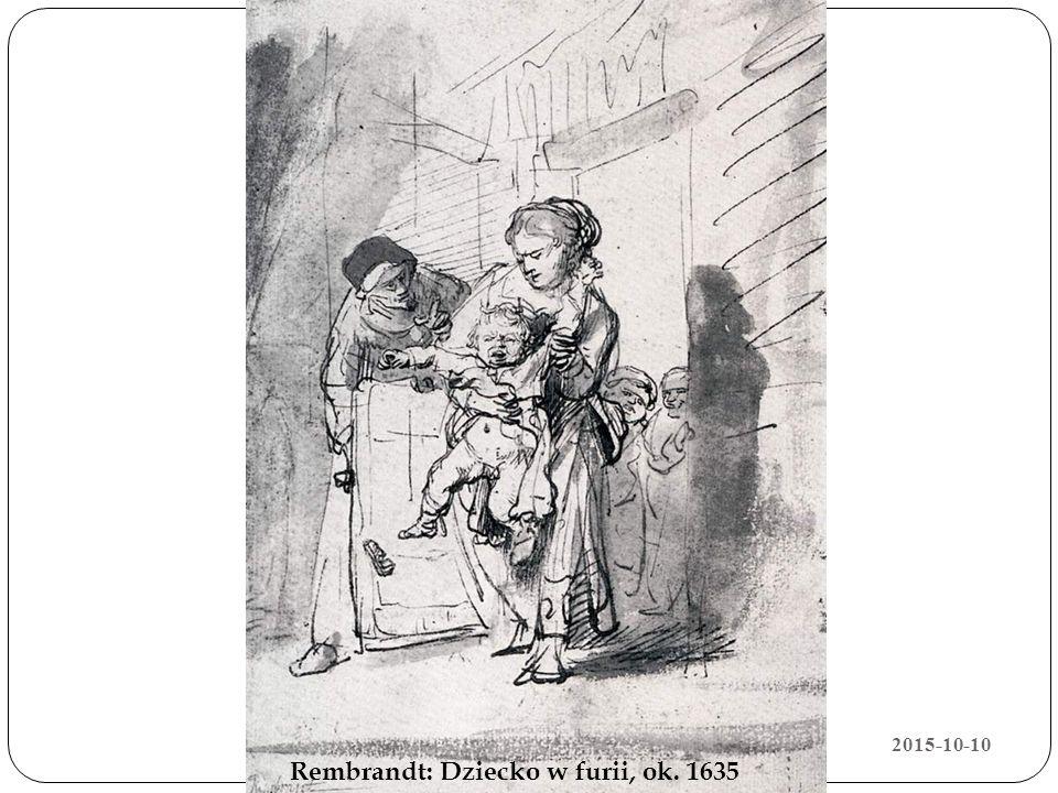 Rembrandt: Dziecko w furii, ok. 1635