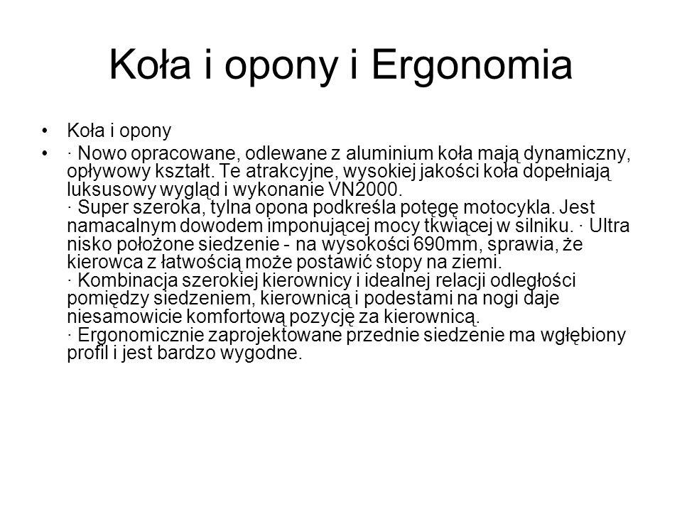 Koła i opony i Ergonomia