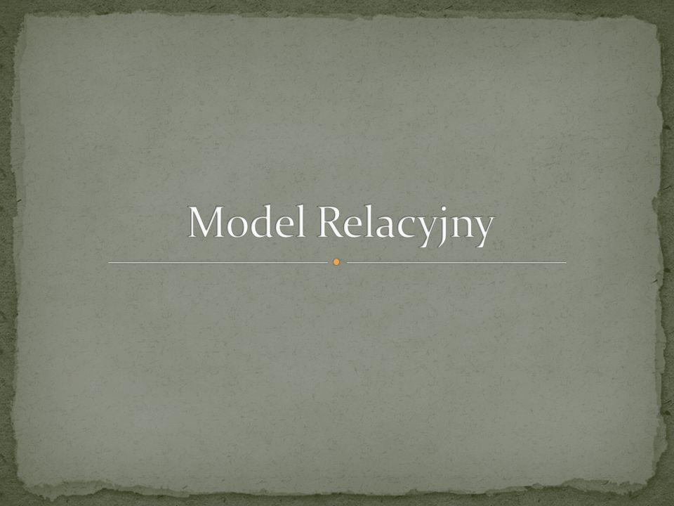 Model Relacyjny