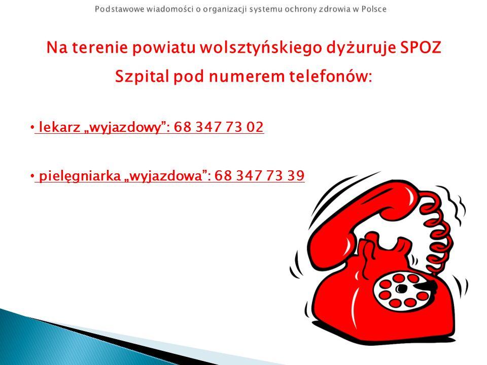 Podstawowe wiadomości o organizacji systemu ochrony zdrowia w Polsce