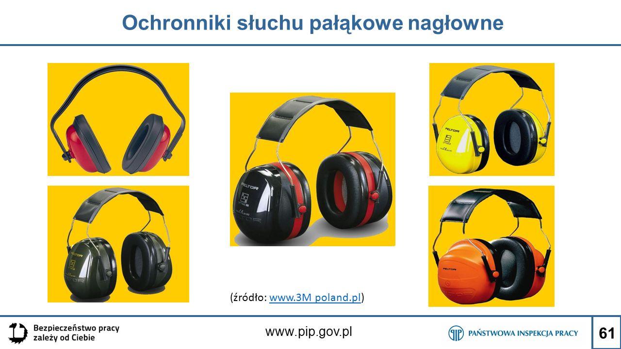 Ochronniki słuchu pałąkowe nagłowne