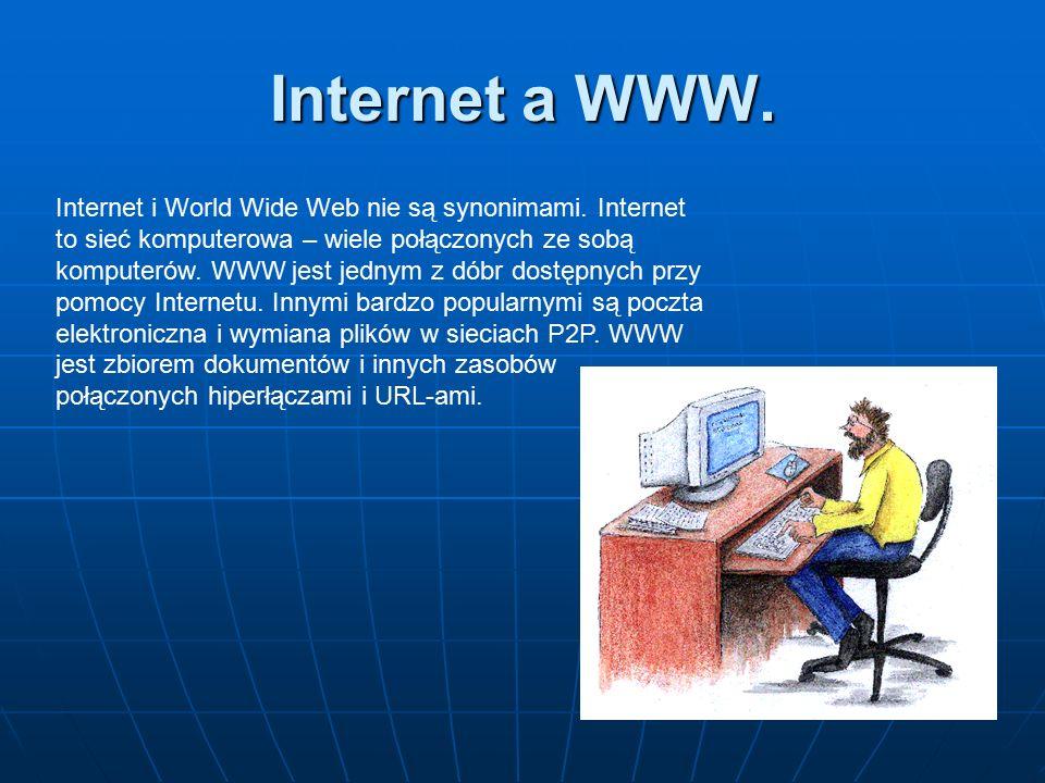 Internet a WWW.