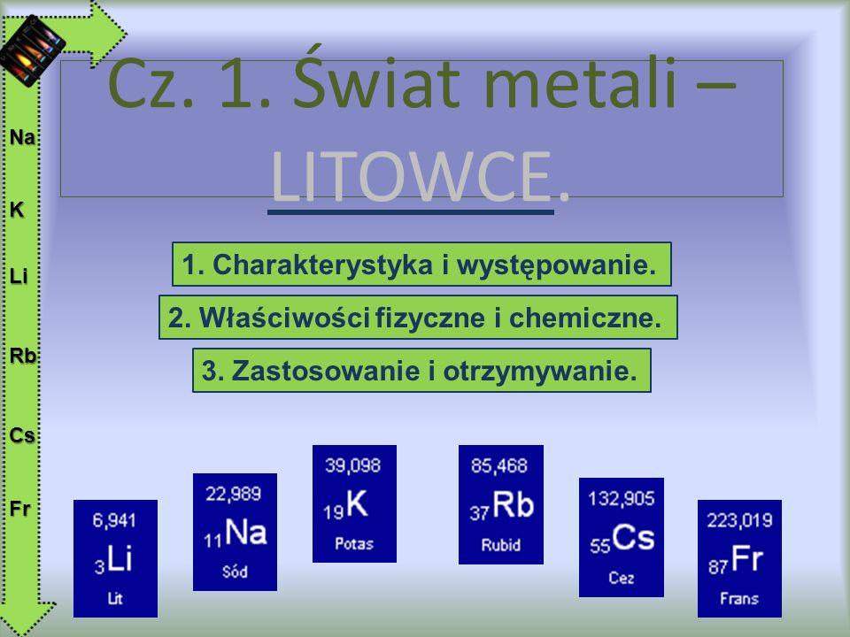 Cz. 1. Świat metali – LITOWCE.