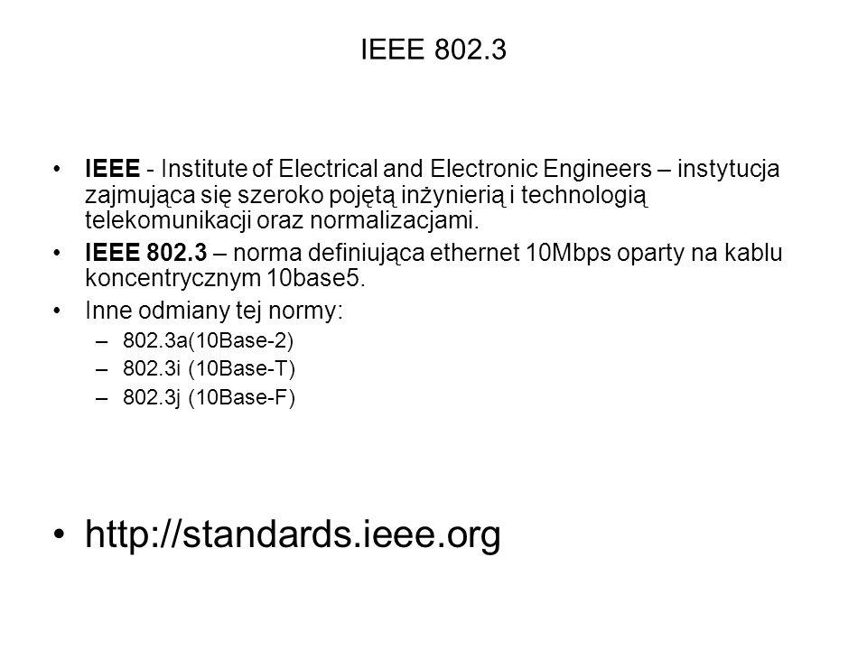 http://standards.ieee.org IEEE 802.3