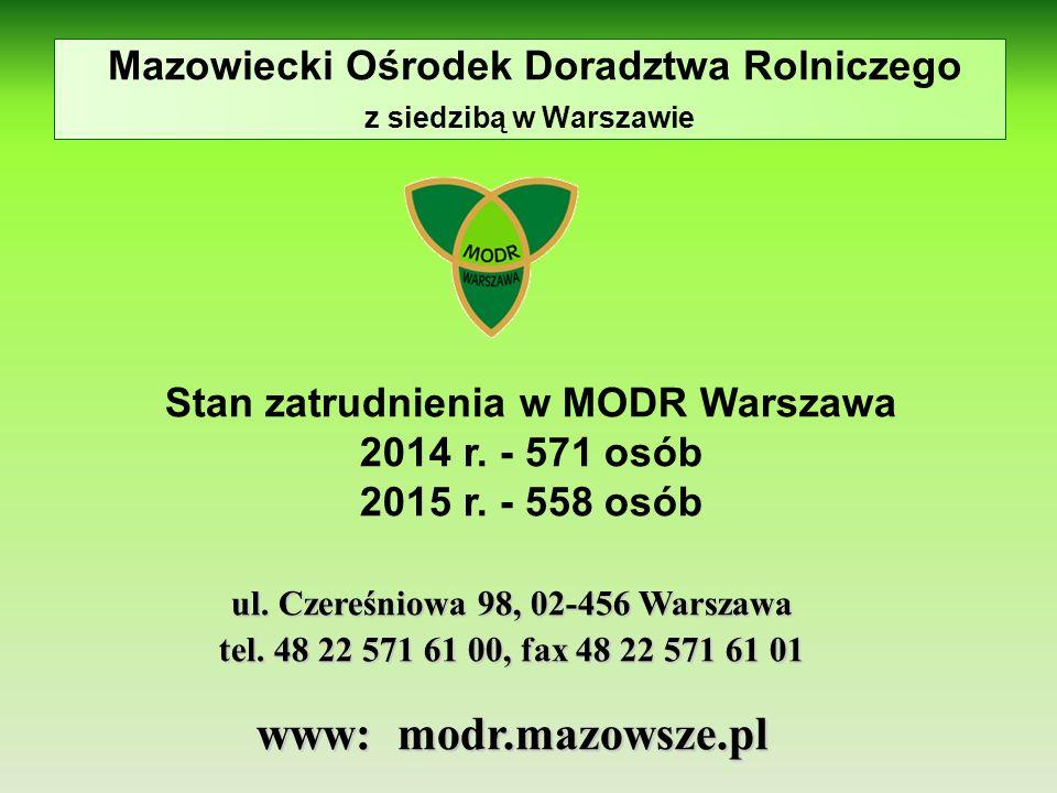 Mazowiecki Ośrodek Doradztwa Rolniczego z siedzibą w Warszawie