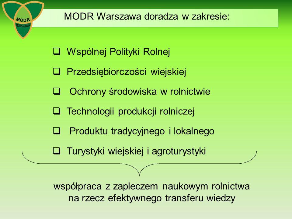 MODR Warszawa doradza w zakresie: