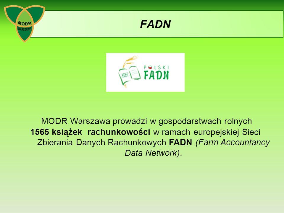 MODR Warszawa prowadzi w gospodarstwach rolnych