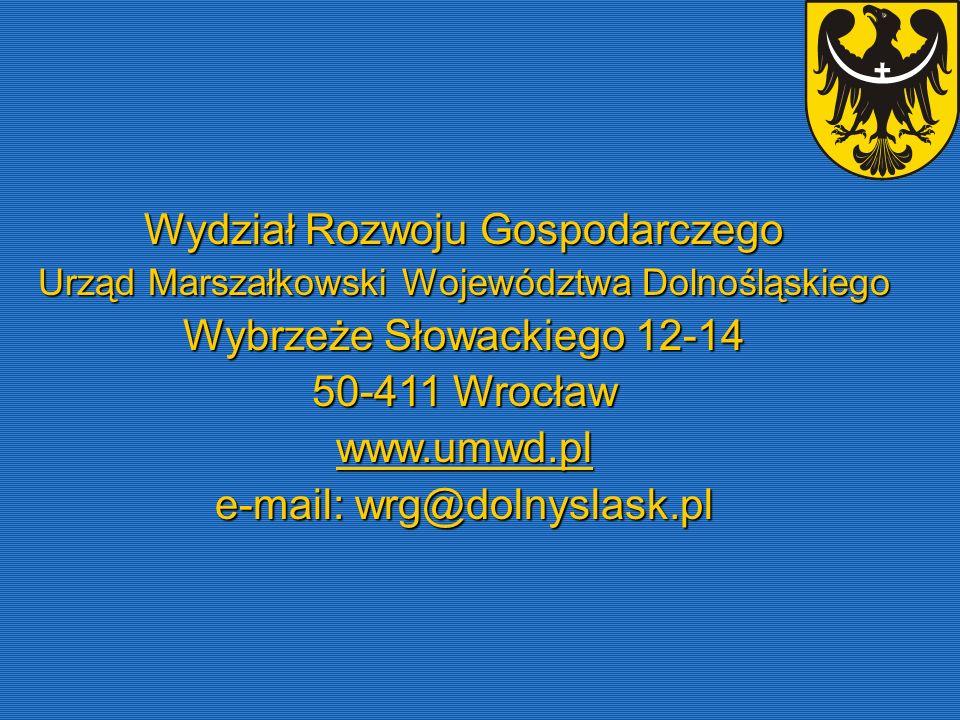 Wydział Rozwoju Gospodarczego Wybrzeże Słowackiego 12-14