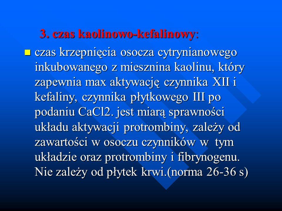 3. czas kaolinowo-kefalinowy: