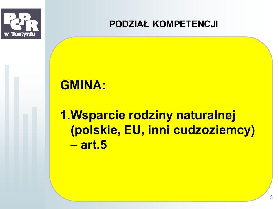Wsparcie rodziny naturalnej (polskie, EU, inni cudzoziemcy) – art.5