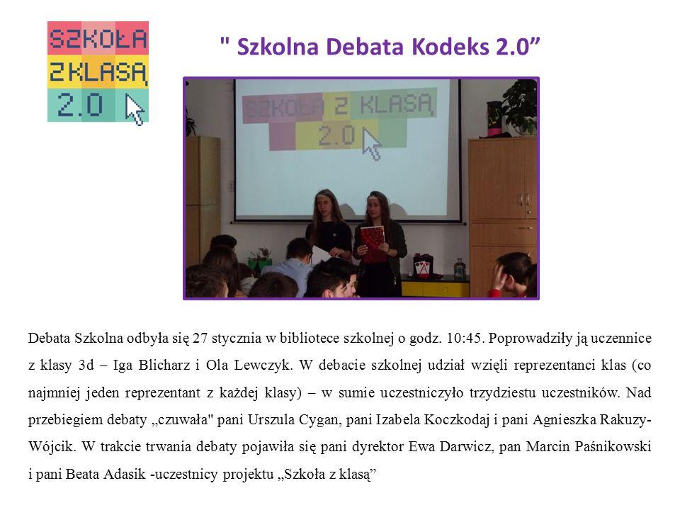 Szkolna Debata Kodeks 2.0