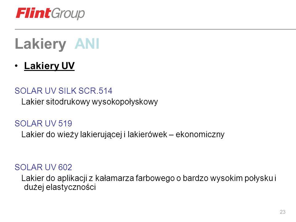 Lakiery ANI Lakiery UV SOLAR UV SILK SCR.514