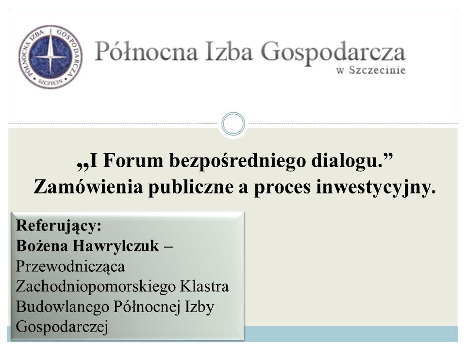 """""""I Forum bezpośredniego dialogu"""