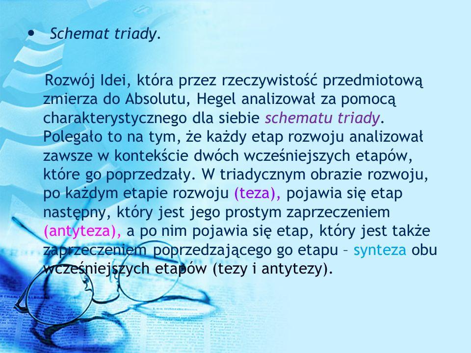 Schemat triady.