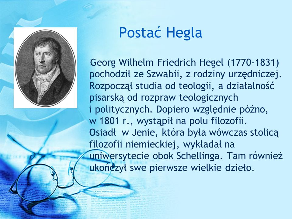 Postać Hegla