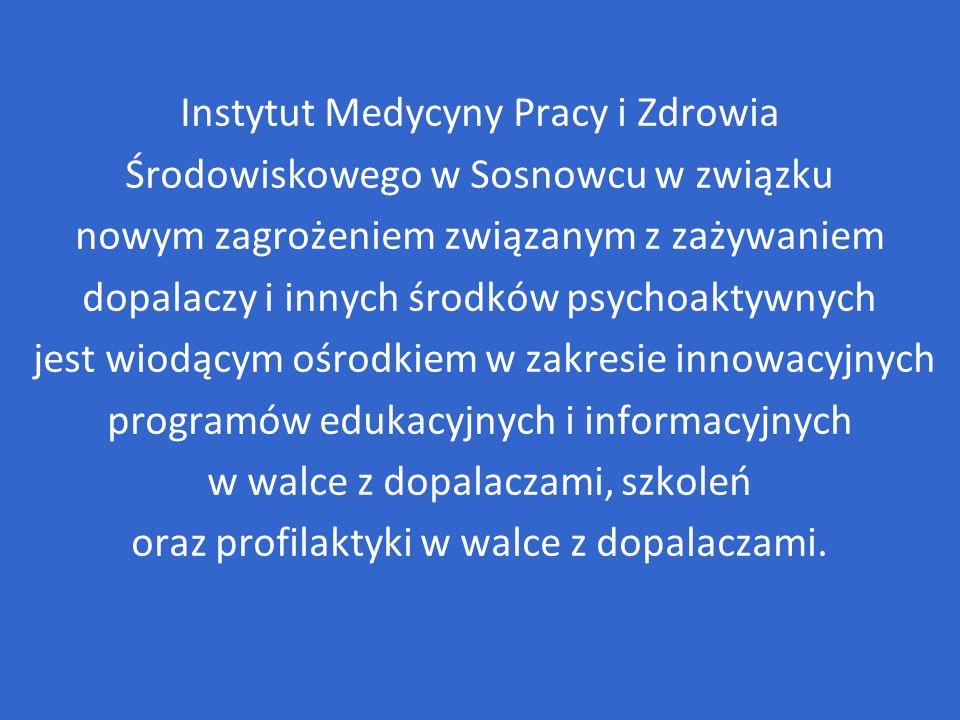 Instytut Medycyny Pracy i Zdrowia Środowiskowego w Sosnowcu w związku