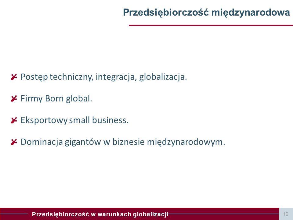 Przedsiębiorczość międzynarodowa