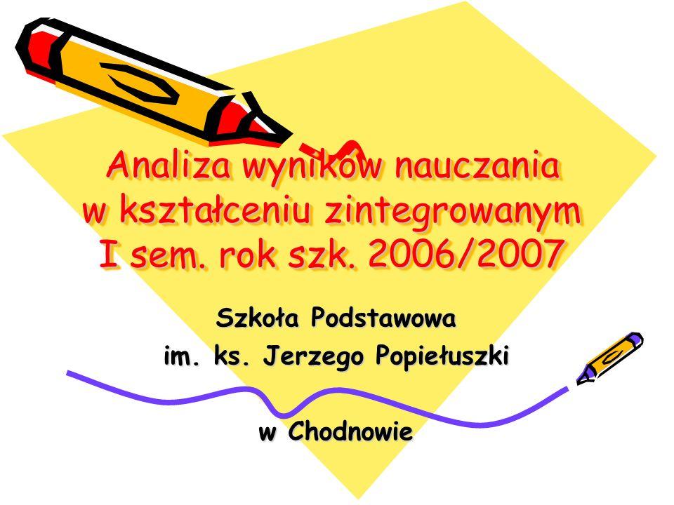 Szkoła Podstawowa im. ks. Jerzego Popiełuszki w Chodnowie