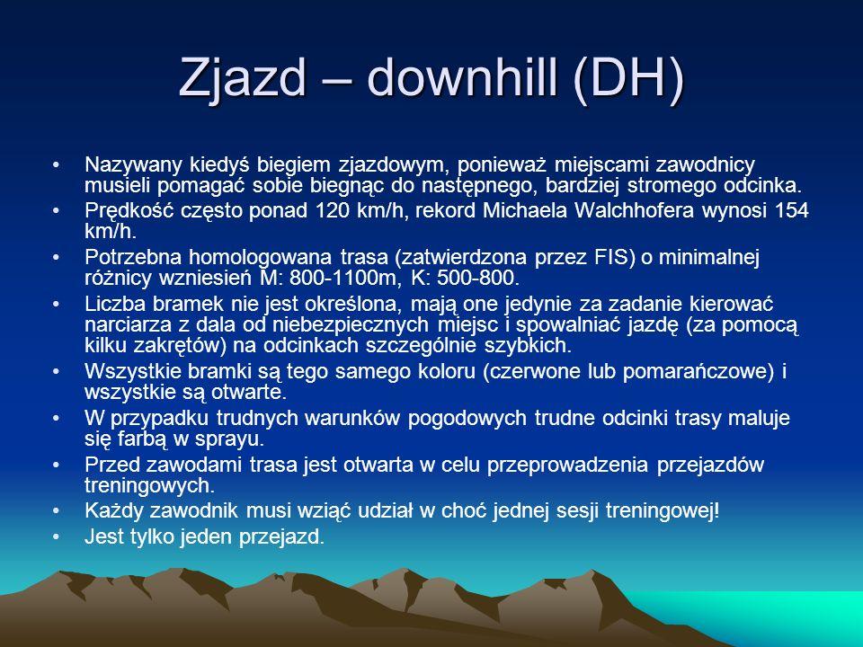 Zjazd – downhill (DH)