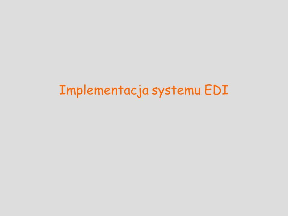 Implementacja systemu EDI