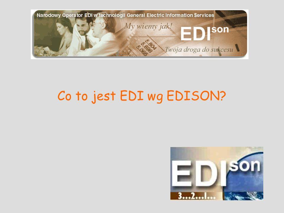 Co to jest EDI wg EDISON
