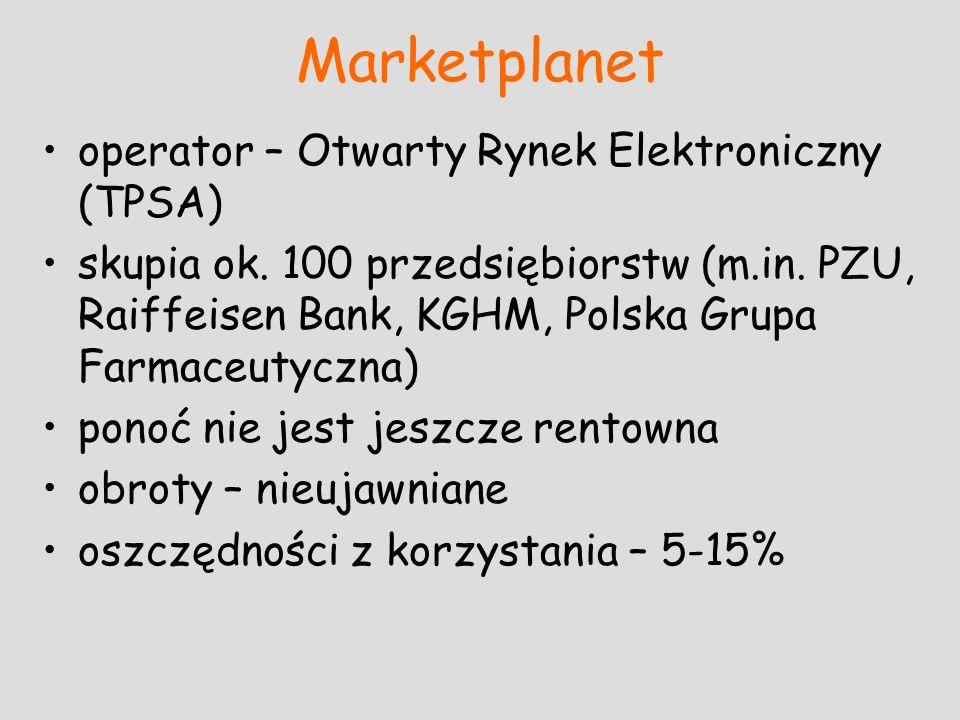 Marketplanet operator – Otwarty Rynek Elektroniczny (TPSA)