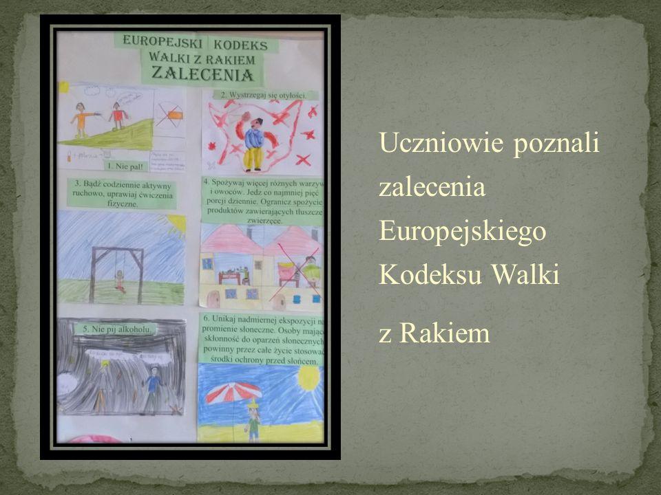 Uczniowie poznali zalecenia Europejskiego Kodeksu Walki
