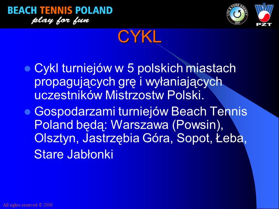 CYKL Cykl turniejów w 5 polskich miastach propagujących grę i wyłaniających uczestników Mistrzostw Polski.