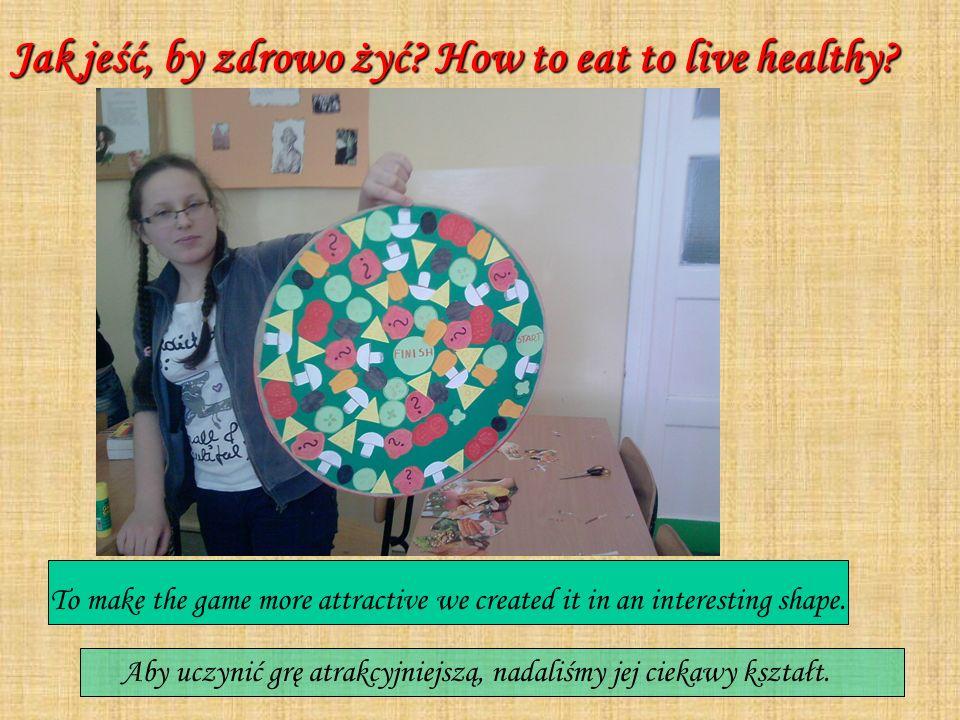 Jak jeść, by zdrowo żyć How to eat to live healthy