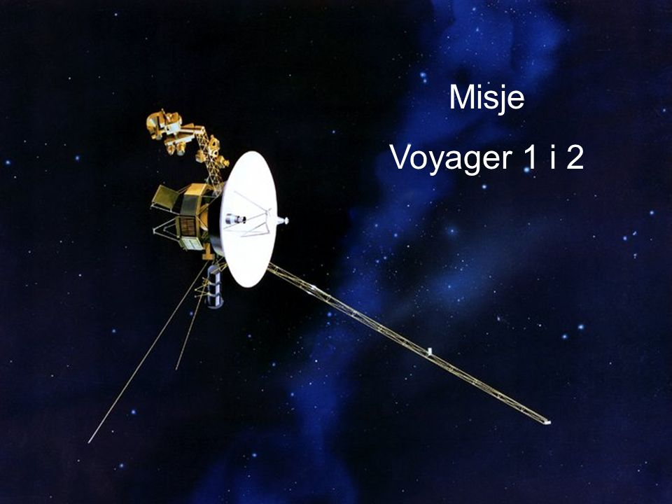 Misje Voyager 1 i 2